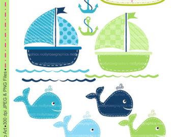 Squares clipart whale Commercial Blue Blue SALE &