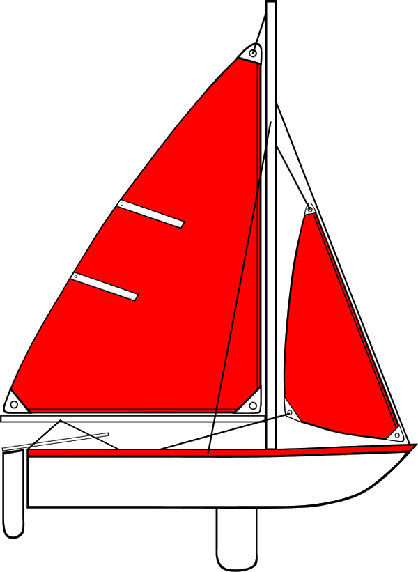 Yacht clipart red boat Clipart Download Clip Boat Art