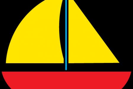 Sailing clipart sailboat Art with Image Clip Clip