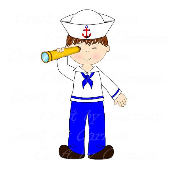 Sailor clipart boat US by boat baby Navy