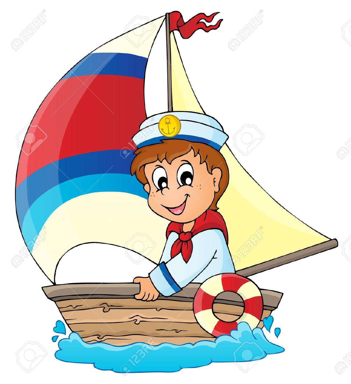 Sailing clipart themed Clipart 4 Cliparts Boy collection