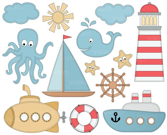 Sailboat clipart sea transport X about Nautical 83 Anchor