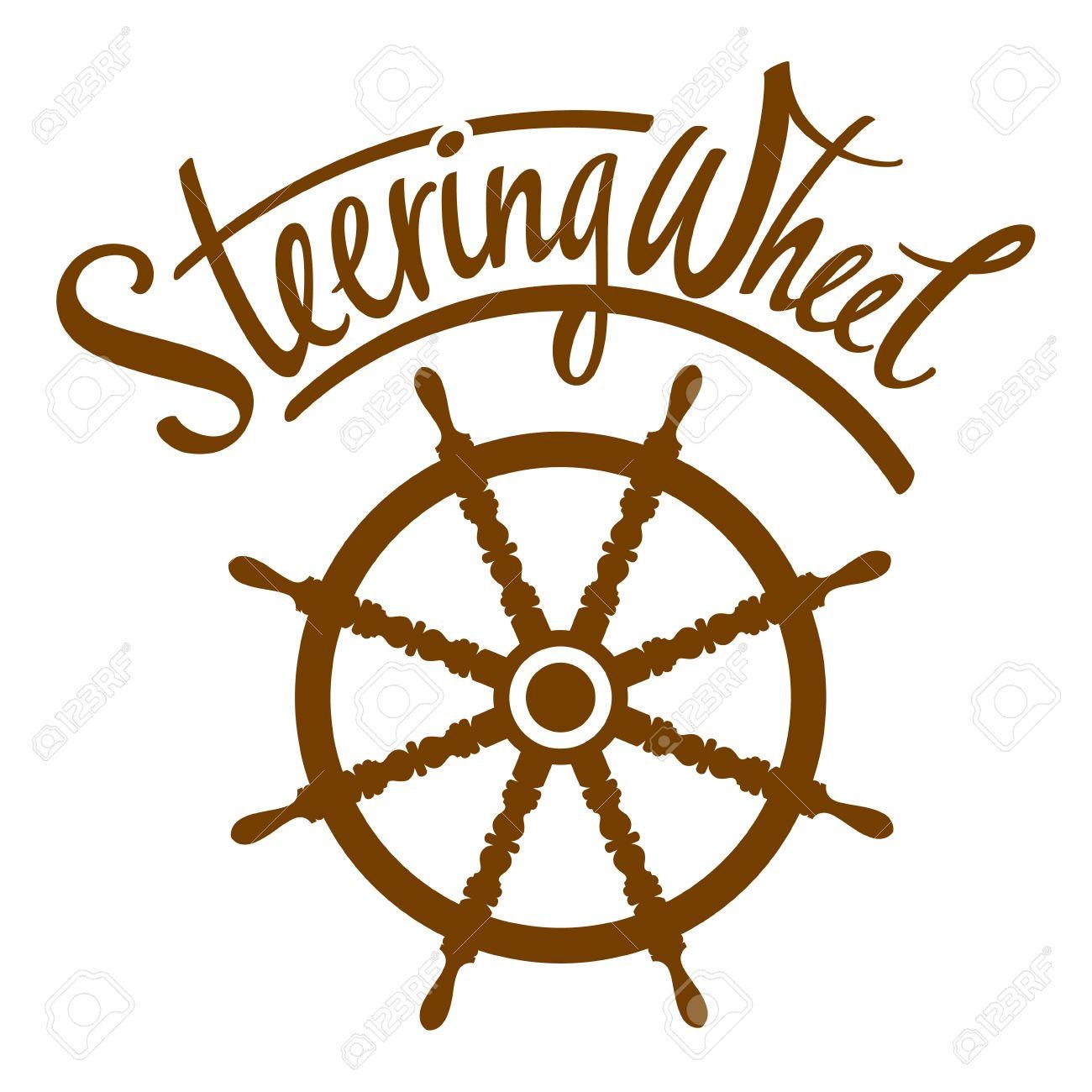 Sailboat clipart ship steering wheel Collection steering Steering Boat clipart
