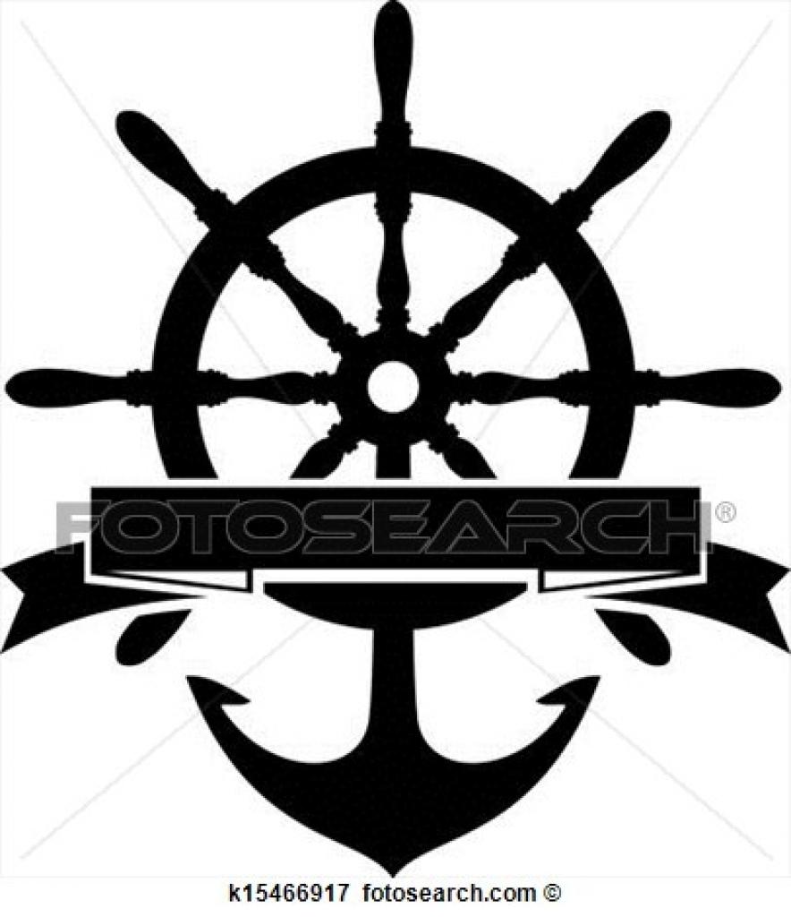 Sailboat clipart ship steering wheel 4299 steering steering boat clip