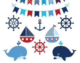 Weaves clipart blue boat #6