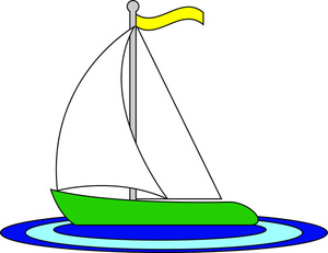 Ferry clipart boat Image: Image Toy Sailboat Art