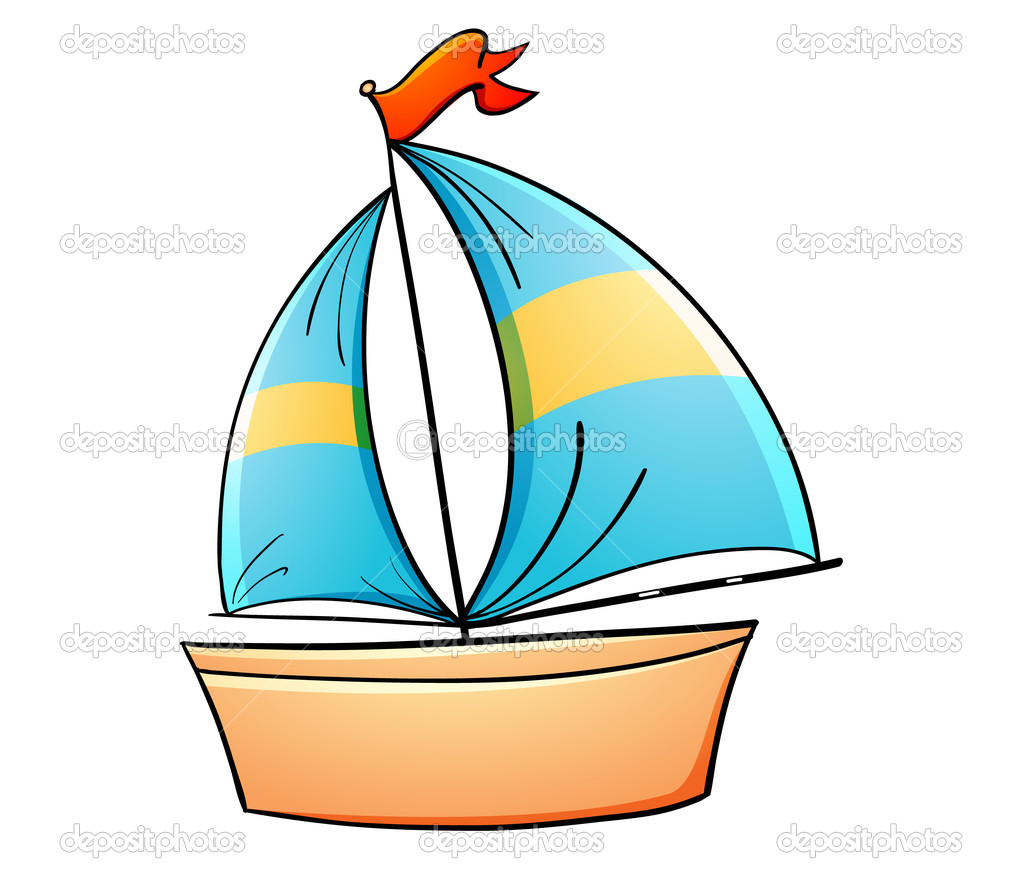 Sailboat clipart toy boat #2