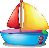 Sailboat clipart toy boat Toys Clip Download Art Free