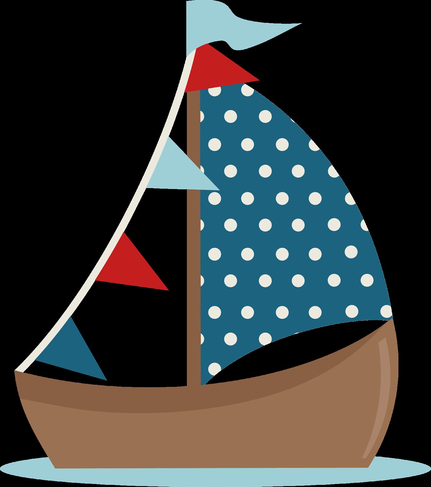 Sailing Boat clipart cute #7