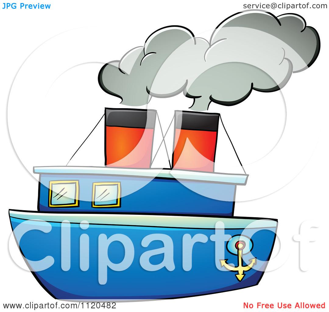 Boat clipart steam boat Pix Clip Steam Vapor >