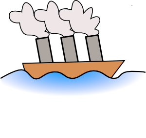 Boat clipart steam boat Clipart – Art Download Vapor