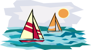 Sailing Boat clipart water clipart #8