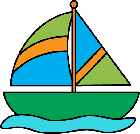 Sailing Boat clipart water clipart #1