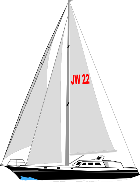 Boat clipart yacht Sailing blogs and Domain art