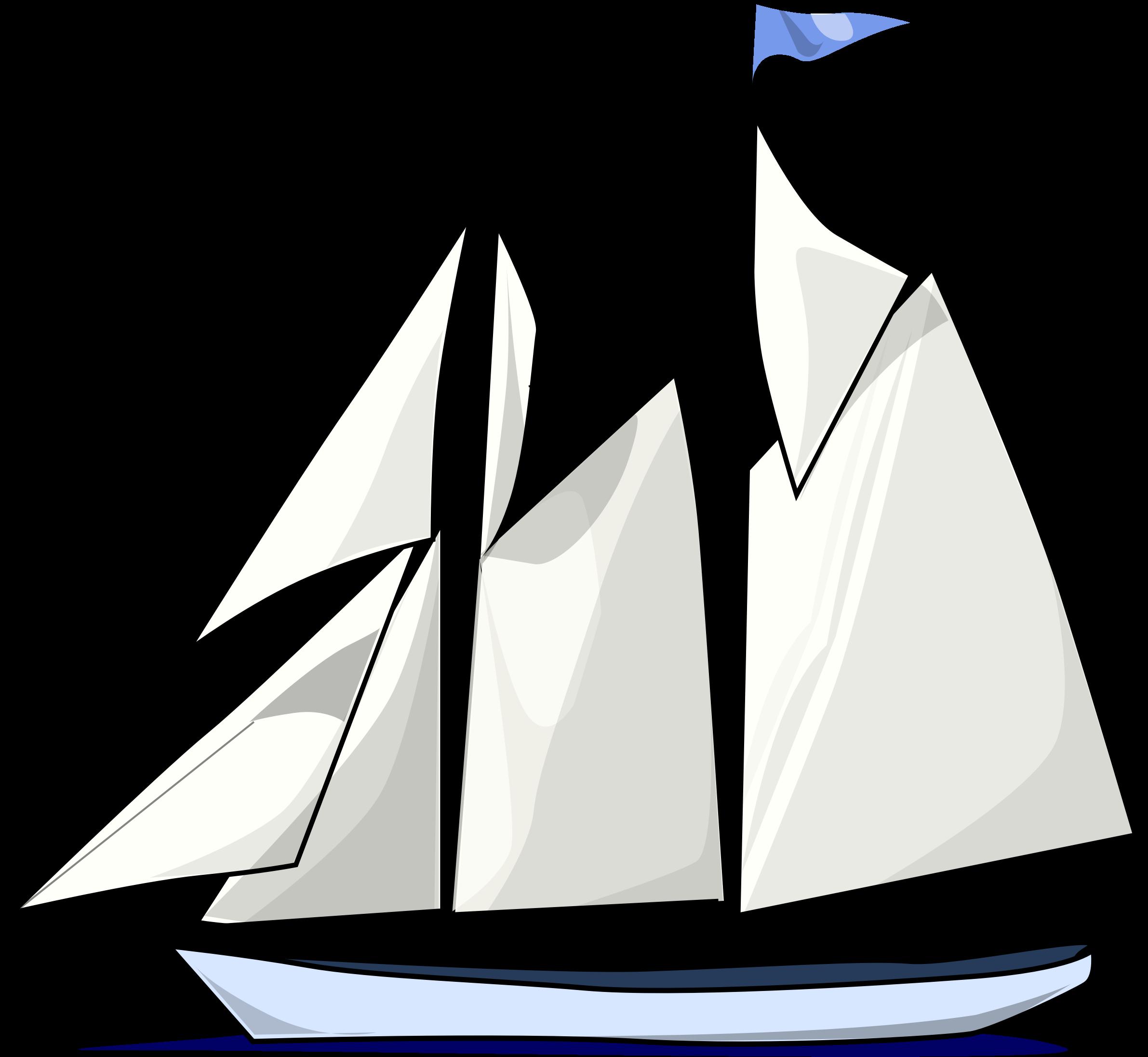 Sailing clipart big boat #5