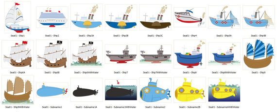 Sailboat clipart yatch Ship yellow  submarine Clip