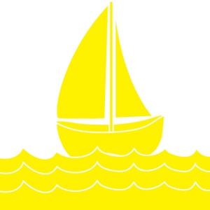 Yellow clipart sailboat Clip Sailboat clip com free
