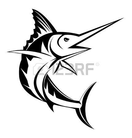 Sailfish clipart blue marlin #4