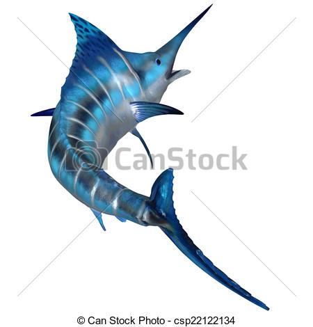 Sailfish clipart blue marlin #9