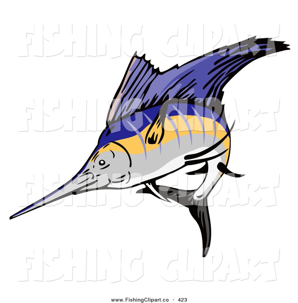 Sailfish clipart drawing #6