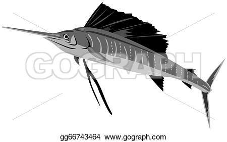 Sailfish clipart drawing #10