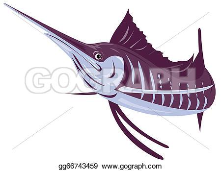 Sailfish clipart drawing #11