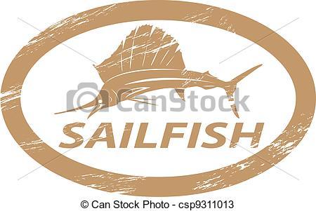 Sailfish clipart drawing #13