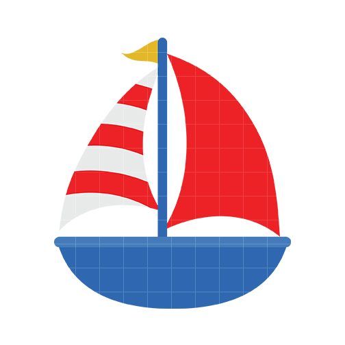 Sailing clipart cute #15