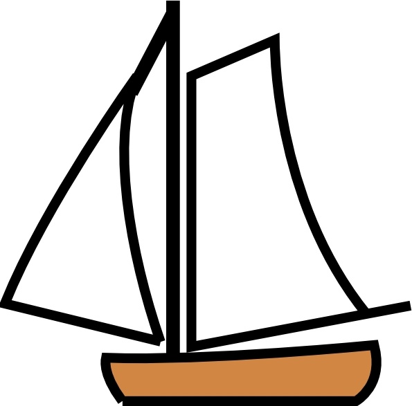 Sailing clipart rescue boat Vector Boat Open clip office