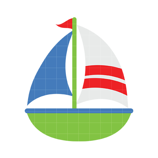 Sailing clipart little boat #14