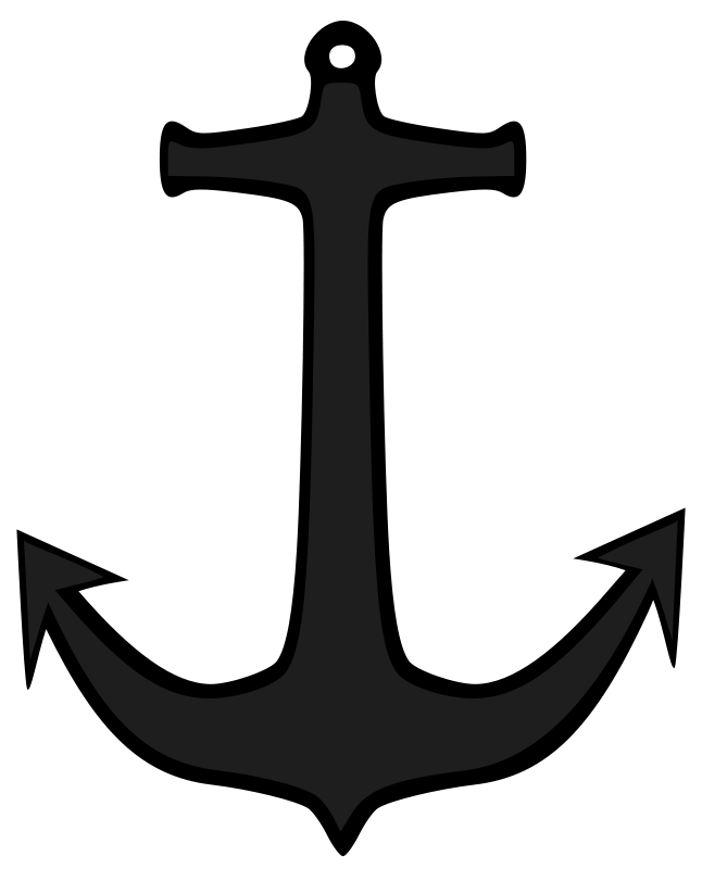Simple clipart boat #13