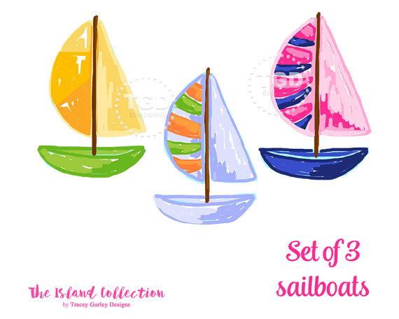 Sailing Boat clipart boating #13