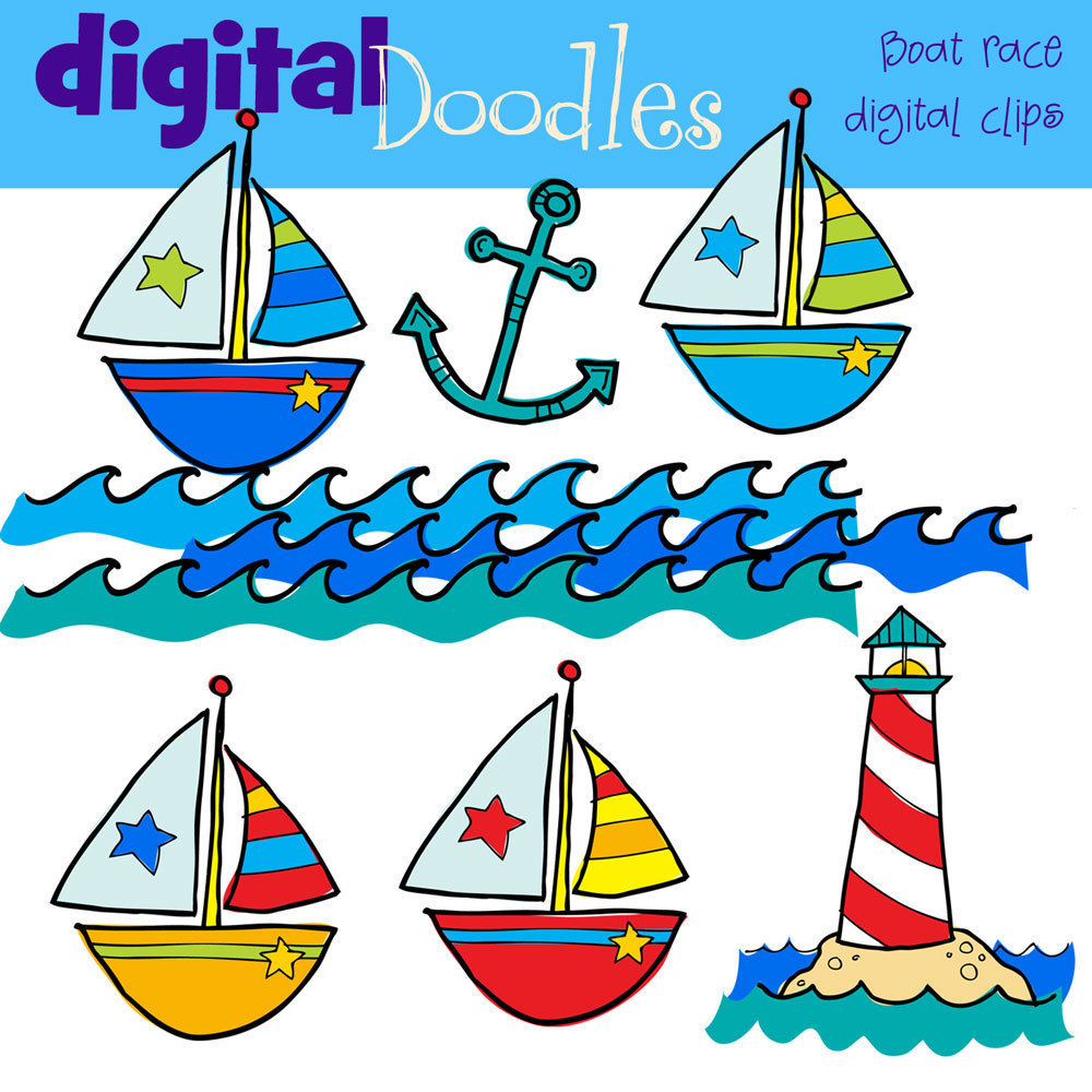 Sailing Boat clipart boating Download Pictures Etsy Boats Popular