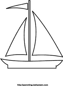Sailing Ship clipart colouring page On best Page Paint about