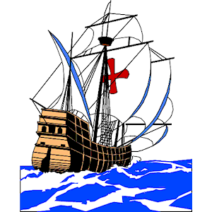 Sailing Boat clipart columbus ship Ship cliparts clipart of Ship