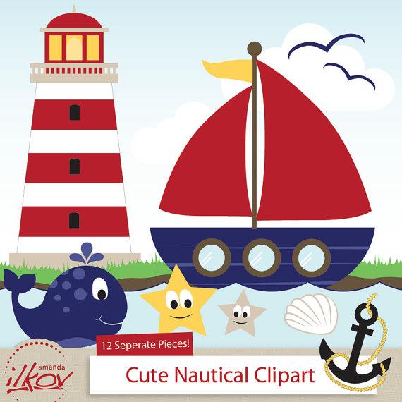 Cute clipart sailboat Professional for art Cute Nautical