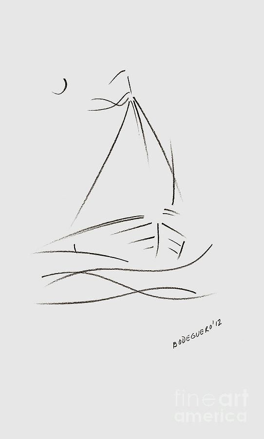 Sailing Boat clipart little boat On Blue drawing Bliss ideas