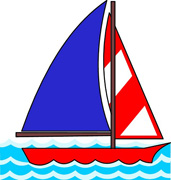 Sailboat clipart boating #13