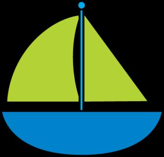 Sailing Boat clipart little boat Blue Boat Clipart Boat «