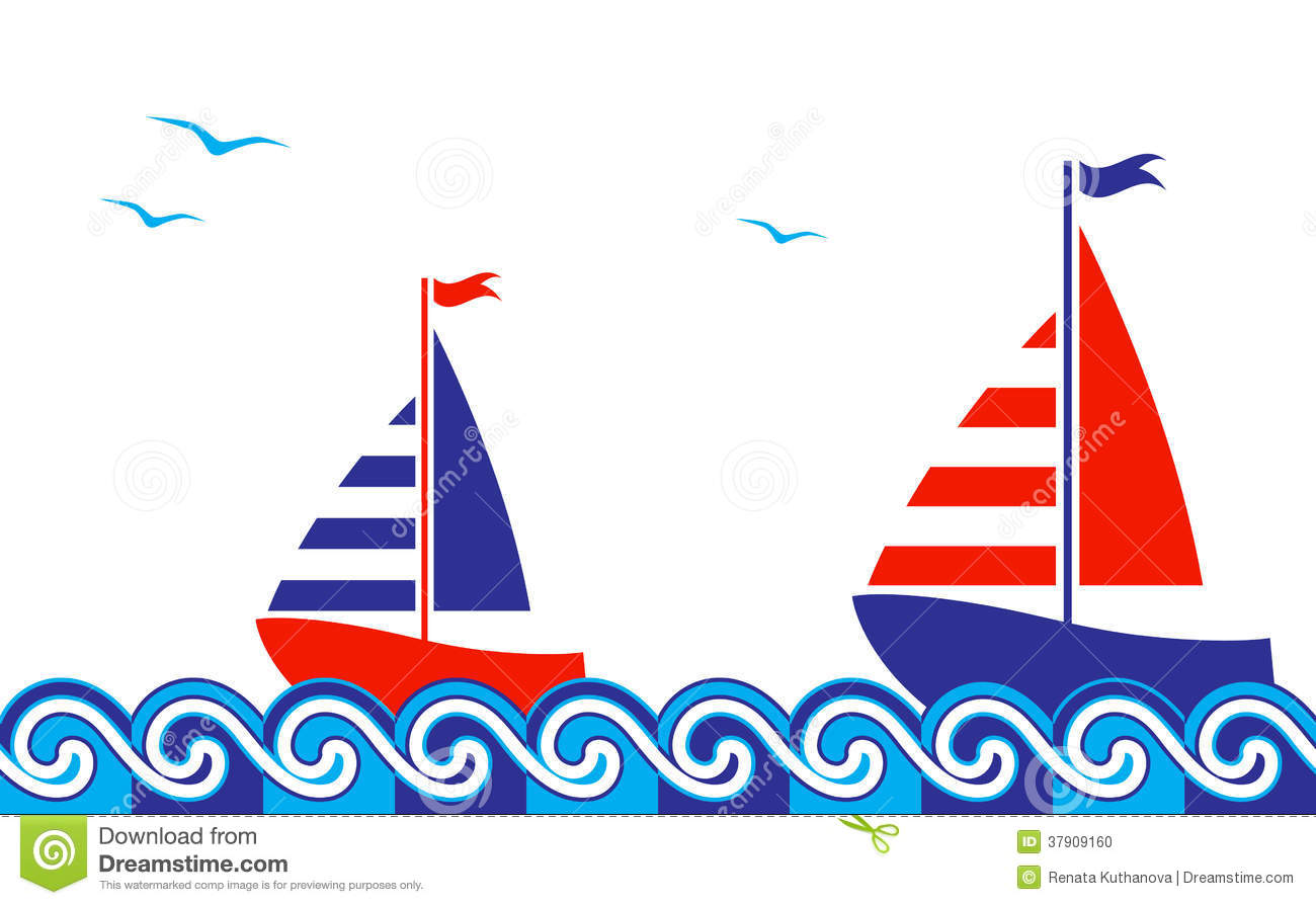 Sailing Boat clipart nautical theme U2zlpe Image cps Border Nautical