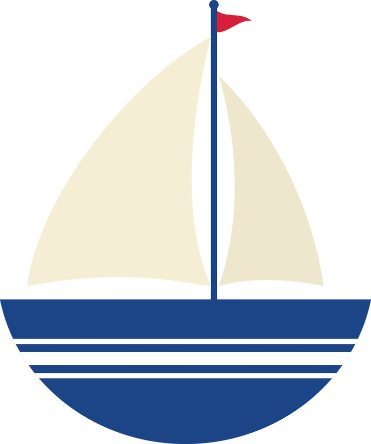 Sailing Boat clipart nautical theme Nautical images 2 BOAT Pinterest