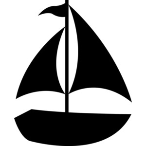 Sailing Boat clipart navy blue Art clipartfest Image Sailboat sailboat