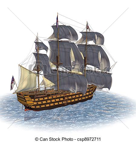 Sailing Ship clipart battleship #4