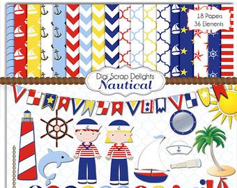 Sailing Boat clipart navy ship Art Clip Red White art