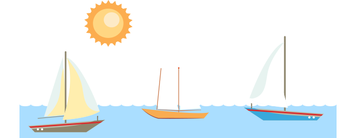 Sailing Boat clipart outing People different and hull groups
