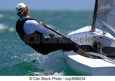 Sailing Boat clipart outing Photo Stock small A enjoys