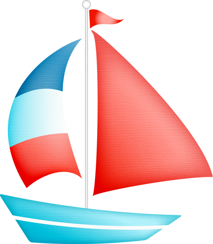 Sailing Boat clipart outing  rocks nautical clip on