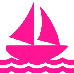 Boat clipart pink boat Deep deep boat Free icon