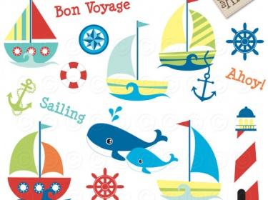 Adventure clipart cute  Art Clip boats Sailor