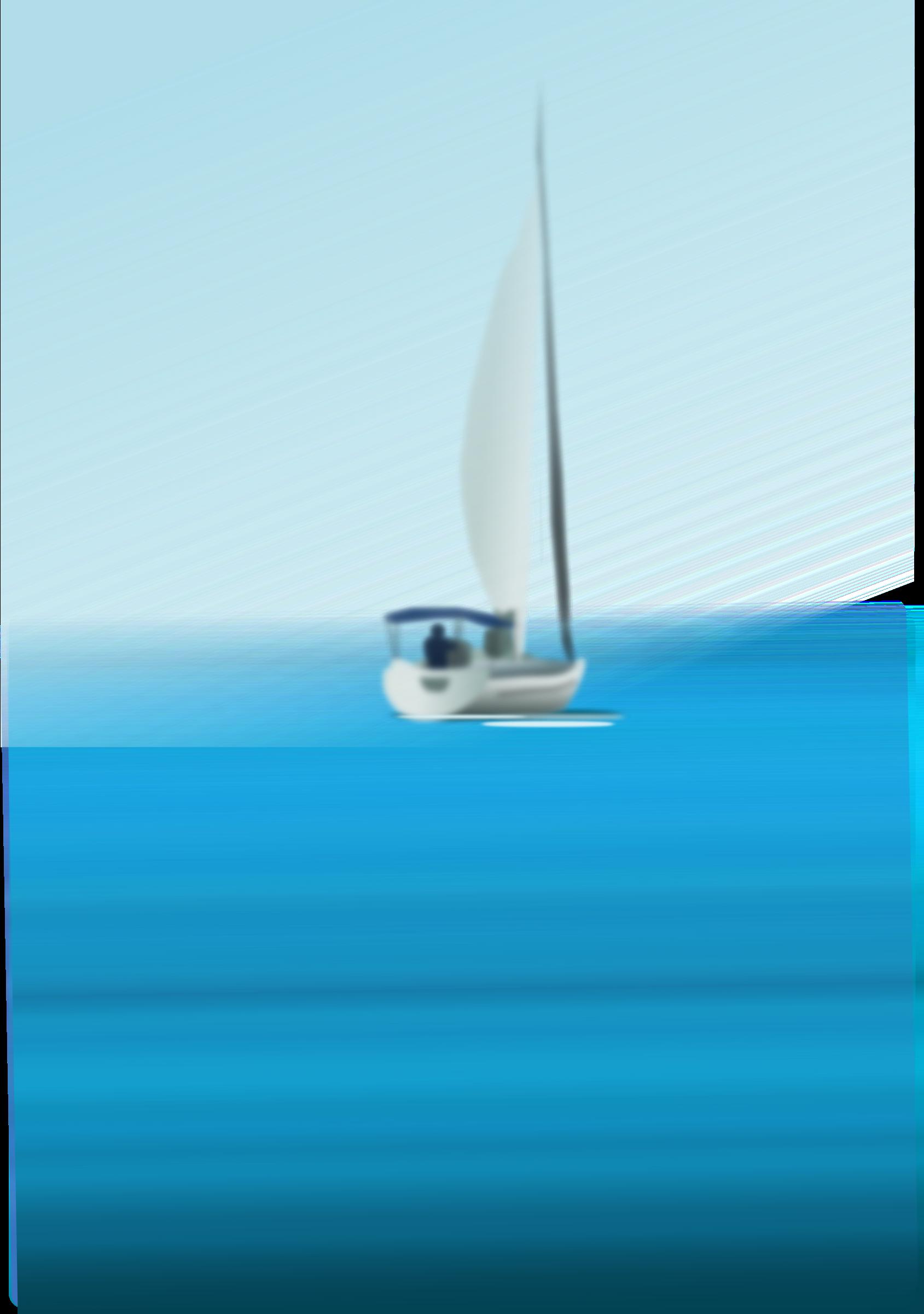 Sailing Boat clipart the sea clipart At at Sea Boat Boat
